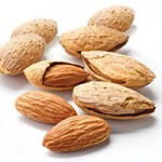 Inshell and whole almonds